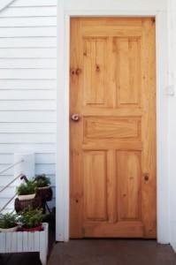 Replaced Front Door