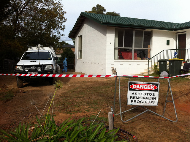 Asbestos Removal on Old Home